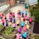 Dance class at Kings Hawford school