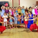 Olivia + Krupa and the Bollywood party stars