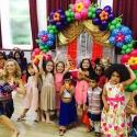 Olivia + Yinka and the Bollyood kids