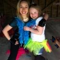 Olivia giving a birthday hug!