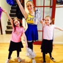 Soshi and Hussannah's Cheerleading party